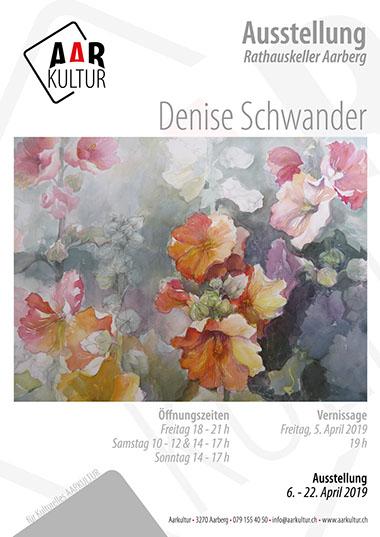 Ausstellung Denise Schwander (06. – 22. April 2019)