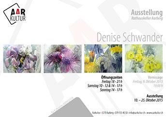 Ausstellung Denise Schwander (10. – 25. Oktober 2015)