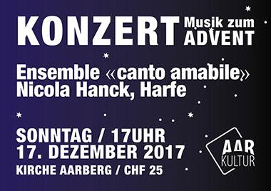 Konzert von Canto amabile (17. Dezember 2017)