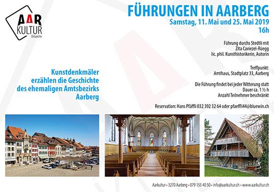 Führungen in Aarberg (11./25. Mai 2019)