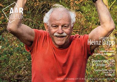 Lesung mit Heinz Däpp (19. Oktober 2017)