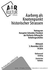 Vortrag von Hanspeter Schneider (5. November 2014)