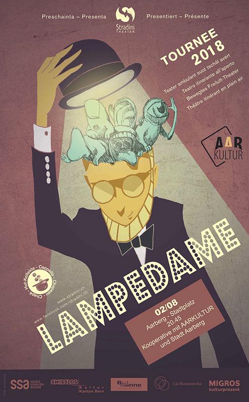 LAMPEDAME – bewegtes Freiluft-Theater (2. August 2018)