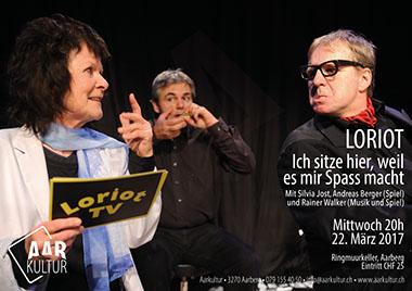 Theaterabend mit LORIOT (22. März 2017)