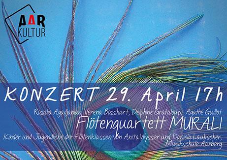 Konzert des Murali Flute Quartet (29. April 2018)