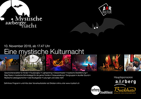 Mystischer Aarberger Nacht 2018 (10. November 2018)