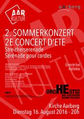 Sommerkonzert Sinfonie Orchester Biel Solothurn (16. August 2016)