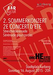 TOBS Sommerkonzert 2015 (16. August 2015)